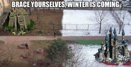 Winter funny memes