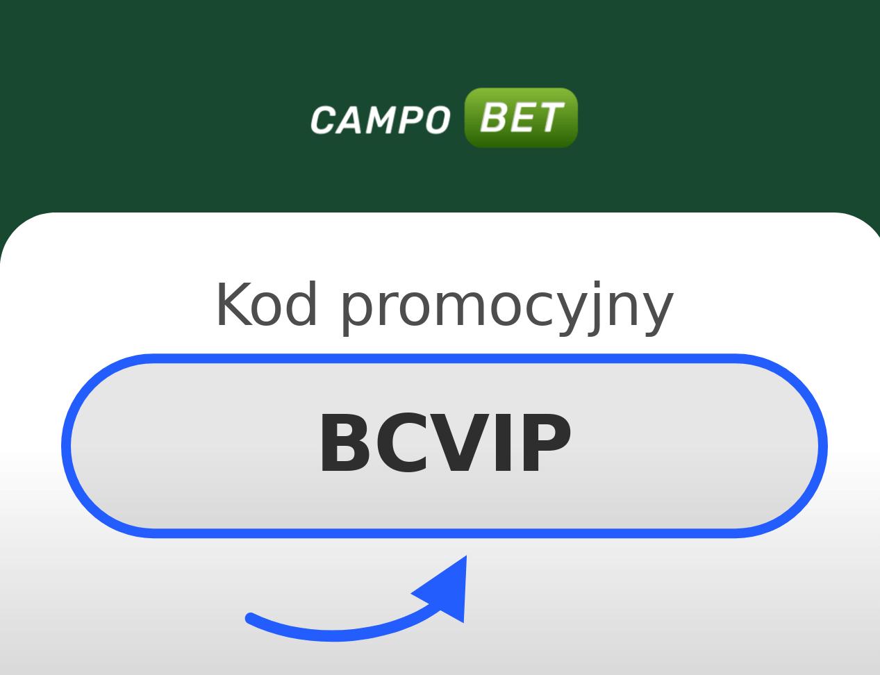 CampoBet Kod Promocyjny