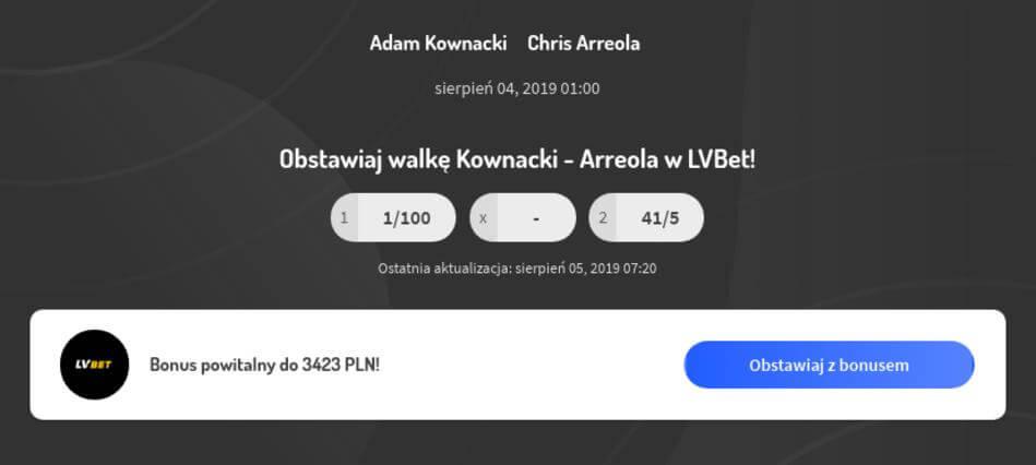 Adam Kownacki - Chris Arreola Kursy